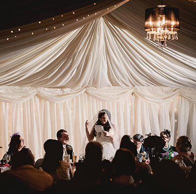 Oaklands Wedding Speech