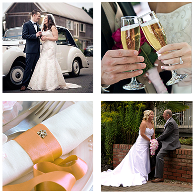 Oaklands Wedding Collage